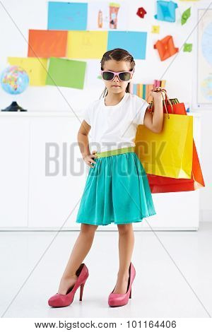 Young Shopper