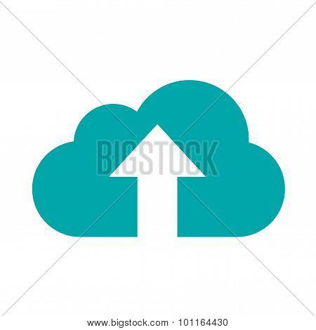 Uploading Cloud Icon