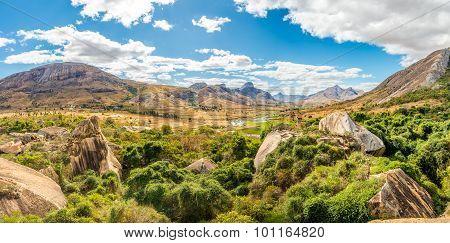 Panorama View At Anja Nature Reserve