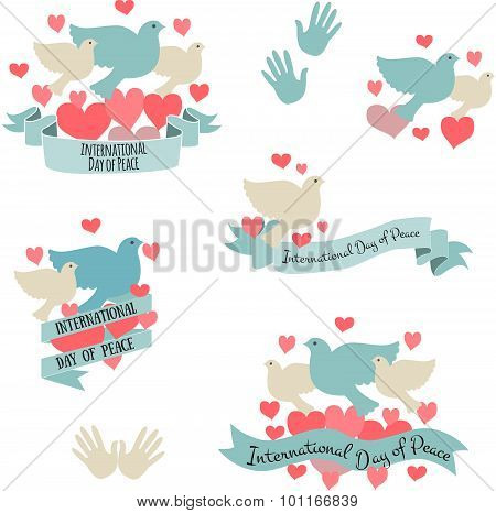 International Day Of Peace Vector Illustration