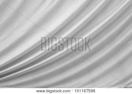 Abstract Light Background Of Cloth