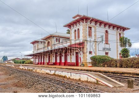 Train Station In The Antsirabe