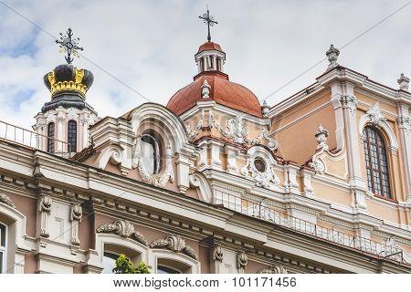 Church Of St. Casimir, Vilnius, Lithuania