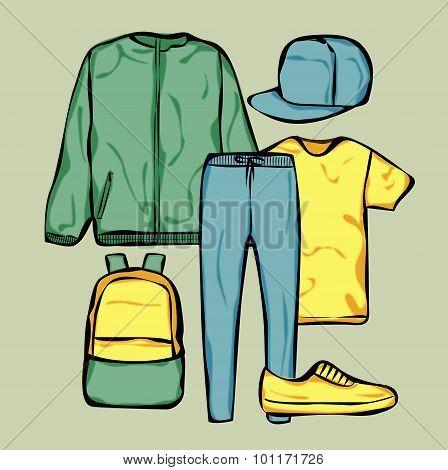 Man clothing set