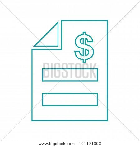 Invoice Concept. Bill Icon...