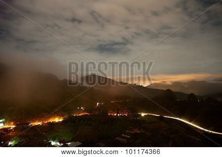 Malaysia.cameron Highlands By Evening