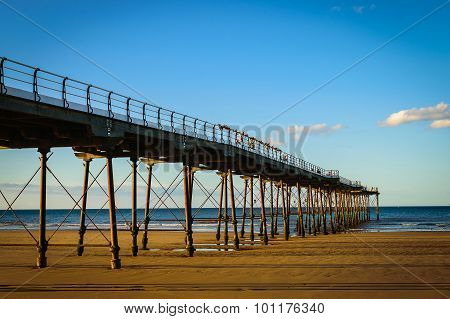 Pier At Saltburn By The Sea