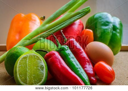 Fresh Organic Homegrown Vegetables