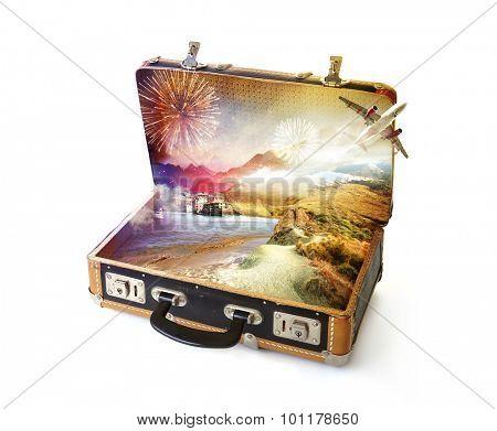 Magic in the suitcase