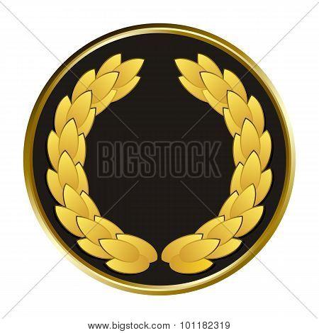Vector Black Medal