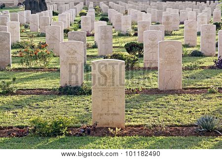 Military Cemetery Australian Cavalry Corps Since The First World War