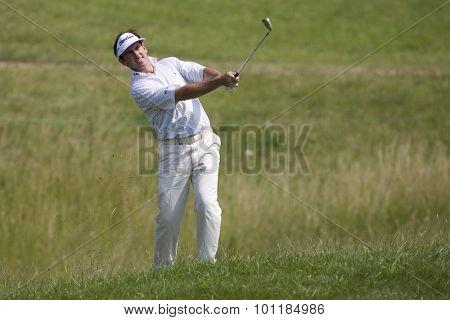PARIS FRANCE, 02 JULY 2009. Gonzalo Fernadez-Castano (ESP) competing in the 1st round of the PGA European Tour Open de France golf tournament.