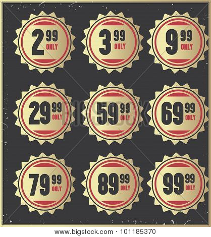 Price  badges