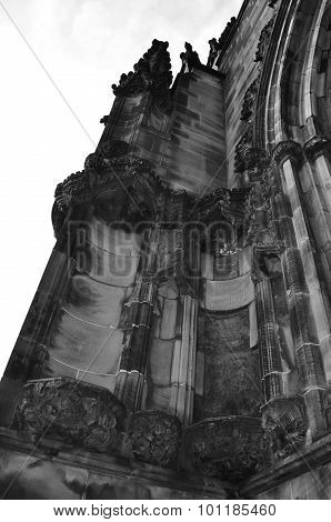 gothic building cathedral detail historical chester important education