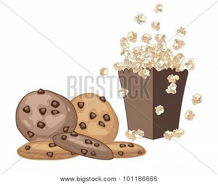 Cookies And Popcorn