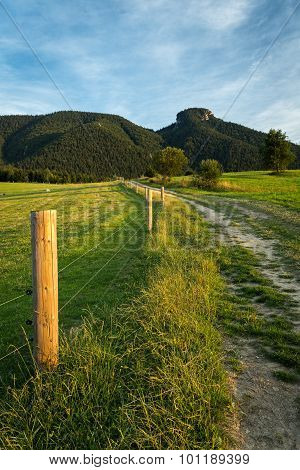 Mountain Meadows And Pastures In Slovakia