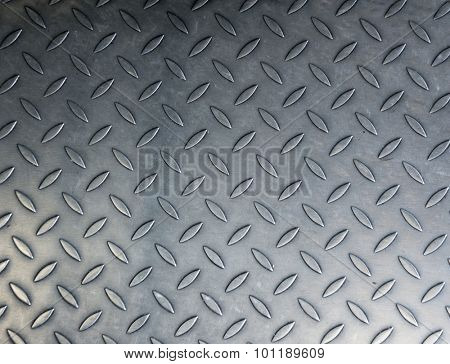 Grunge background texture of shiny metal.