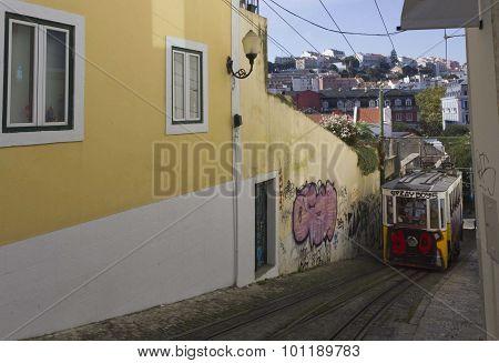 Lavra Funicular Lisbon