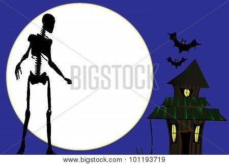 Halloween Skeleton