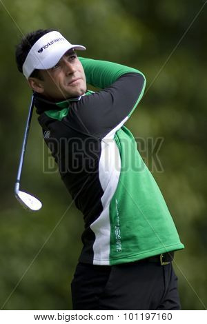 WENTWORTH, ENGLAND. 22 MAY 2009.Lee SLATTERY ENG  playing in the 2nd round of the European Tour BMW PGA Championship.