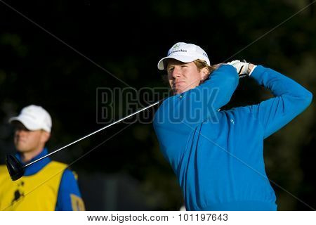 GLENEAGLES SCOTLAND, 26 AUGUST 2009. Wil Besseling (NED) competing the first round of the European Tour Johnnie Walker Championship.