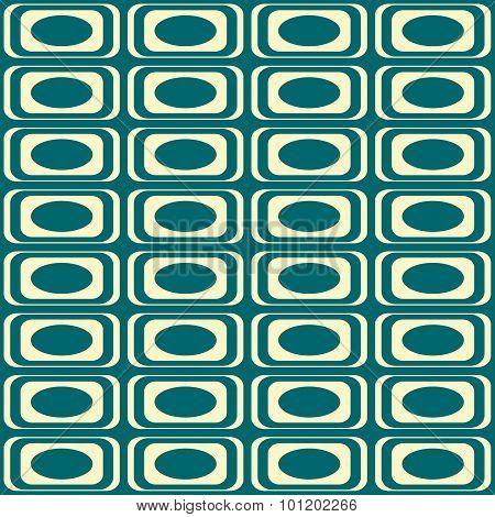 Geometrical pattern in retro colors.
