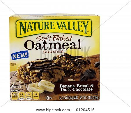 Nature Valley Oatmeal Bars.