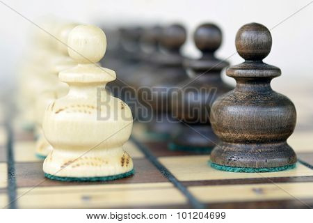 Chess. The pawns.