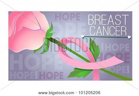 Pink Ribbon Of Thread Banner 3