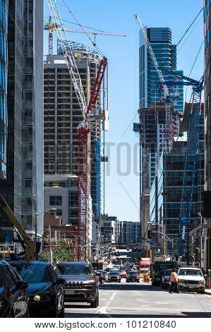 Work in progress in San Francisco