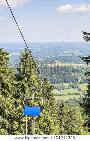 Chairlift Bavaria Alps