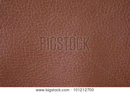 Brown Texture Background From Lather Wallet.