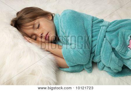 Pretty Female Child Sleeping