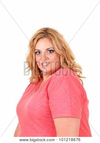 Plus Size Woman Portrait..