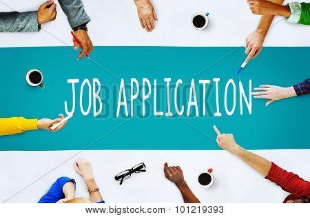 Job Application Career Employment Concept