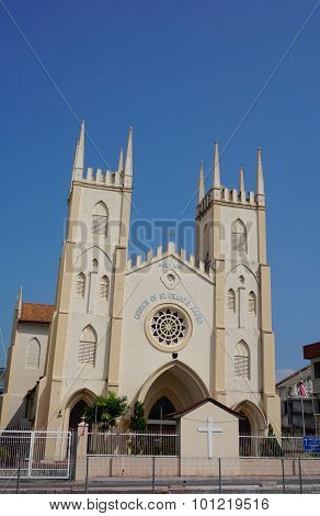 Church Of St. Francis Xavier, Malacca