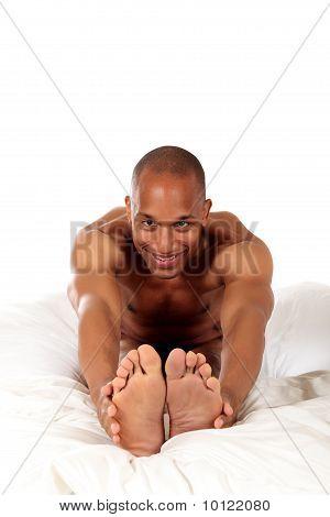 African American Bedroom Yoga