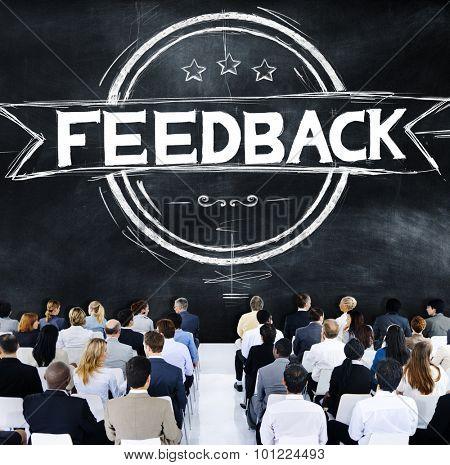 Feedback Evaluation Reflection Response Result Concept
