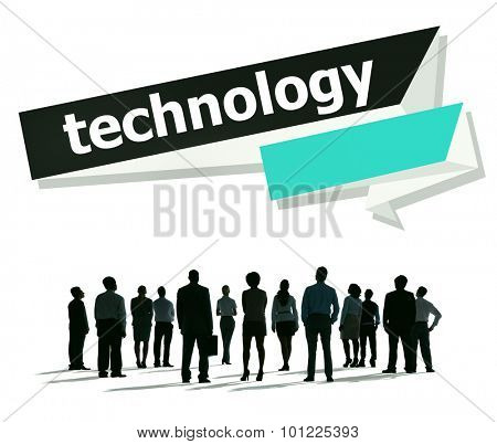 Technology Advance Innovation Vision Interenet Concept