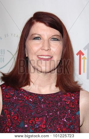 LOS ANGELES - SEP 9:  Kate Flannery at the Farrah Fawcett Foundation Presents 1st Annual Tex-Mex Fiesta at the Wallis Annenberg Center for the Performing Arts on September 9, 2015 in Beverly Hills, CA