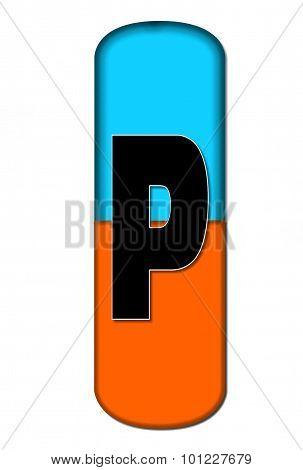 Alphabet Capsule P
