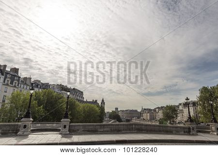 View Of The Seine River