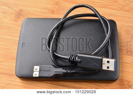 External Usb 3.0 Hard Disc And Cable