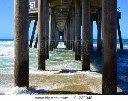 Underneath the Beach Pier