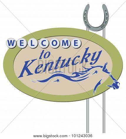 Stand Welcome To Kentucky