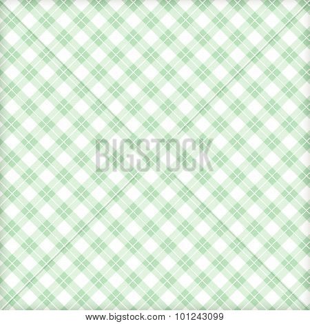 Fabric Green And Loincloth, Background Vector