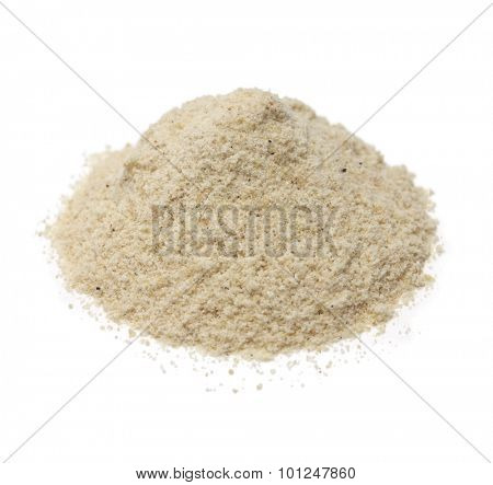 pile of asafoetida hing powder, indian cuisine spice