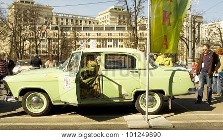 Retro Car Volga Gaz 24
