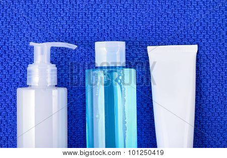 Face Wash Cleansing Gel, Toner, Cream. Face Cosmetics
