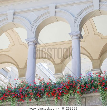 Arches In An Old Building